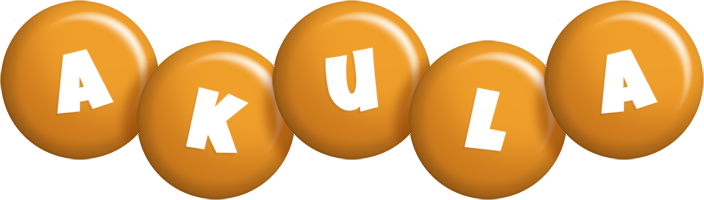 Akula candy-orange logo