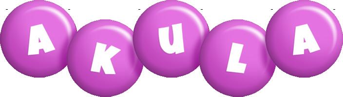 Akula candy-purple logo
