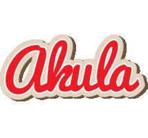 Akula chocolate logo