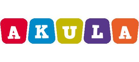 Akula daycare logo