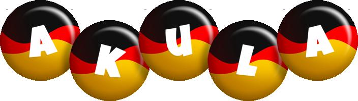 Akula german logo