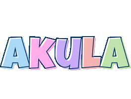 Akula pastel logo