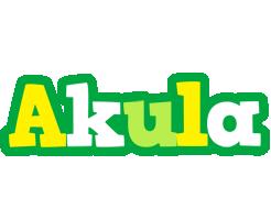 Akula soccer logo