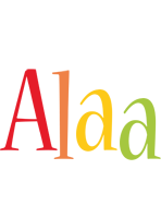 Alaa birthday logo