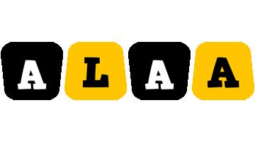 Alaa boots logo