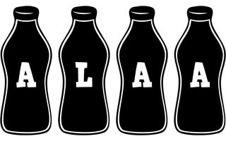 Alaa bottle logo