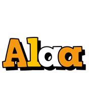 Alaa cartoon logo