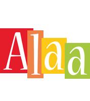Alaa colors logo