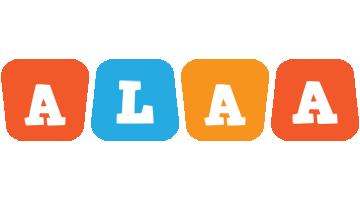 Alaa comics logo