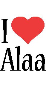 Alaa i-love logo