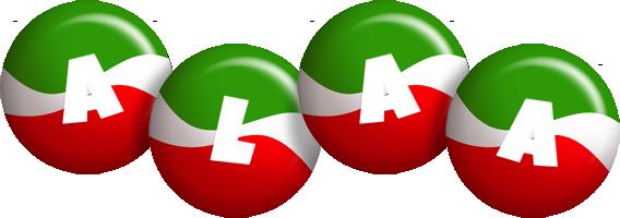 Alaa italy logo