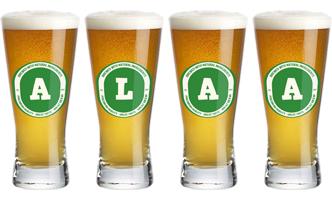 Alaa lager logo
