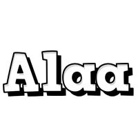 Alaa snowing logo