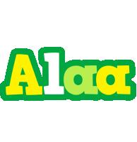 Alaa soccer logo