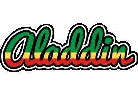 Aladdin african logo