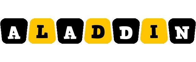 Aladdin boots logo
