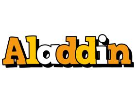 Aladdin cartoon logo