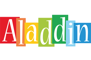 Aladdin colors logo