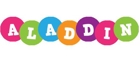 Aladdin friends logo