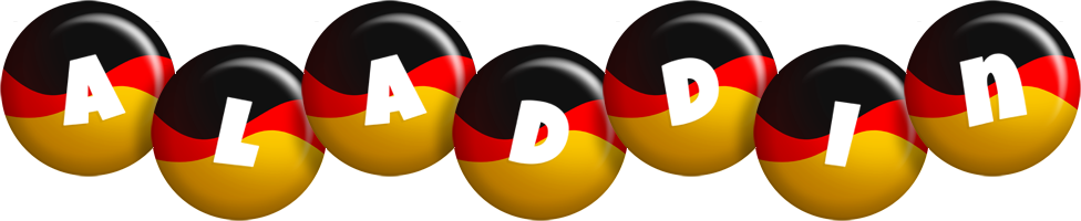 Aladdin german logo