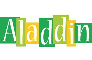 Aladdin lemonade logo