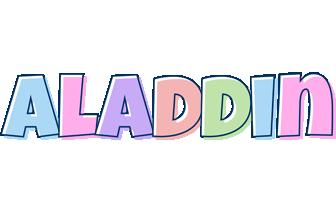 Aladdin pastel logo