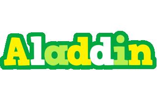 Aladdin soccer logo