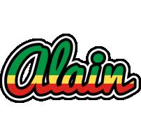 Alain african logo