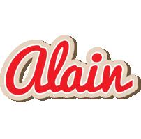 Alain chocolate logo