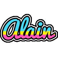Alain circus logo