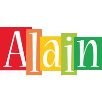 Alain colors logo