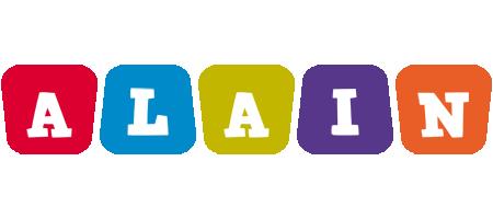 Alain daycare logo