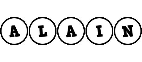 Alain handy logo