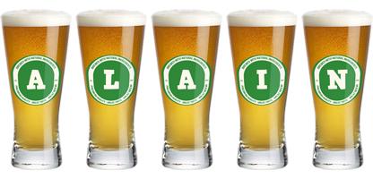 Alain lager logo