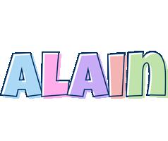 Alain pastel logo