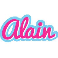 Alain popstar logo
