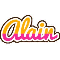 Alain smoothie logo