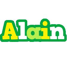 Alain soccer logo