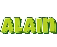 Alain summer logo