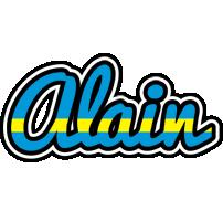 Alain sweden logo
