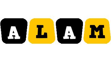 Alam boots logo