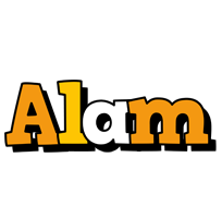 Alam cartoon logo