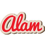 Alam chocolate logo