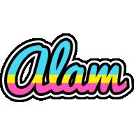 Alam circus logo
