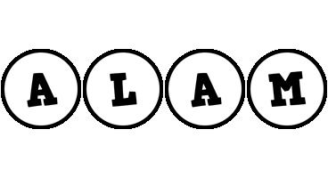 Alam handy logo