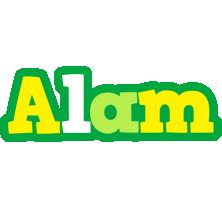 Alam soccer logo