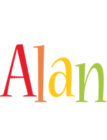 Alan birthday logo