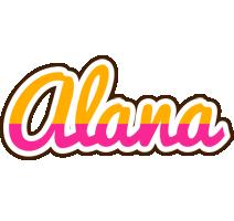 Alana smoothie logo