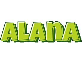 Alana summer logo