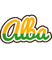 Alba banana logo